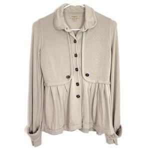 Burberry Extra Fine Merino Wool Cardigan Sweater